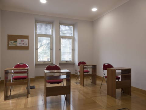 Sala studio Paolo Emilio