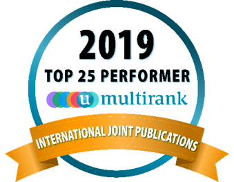 u-multirank 2019 award joint publication