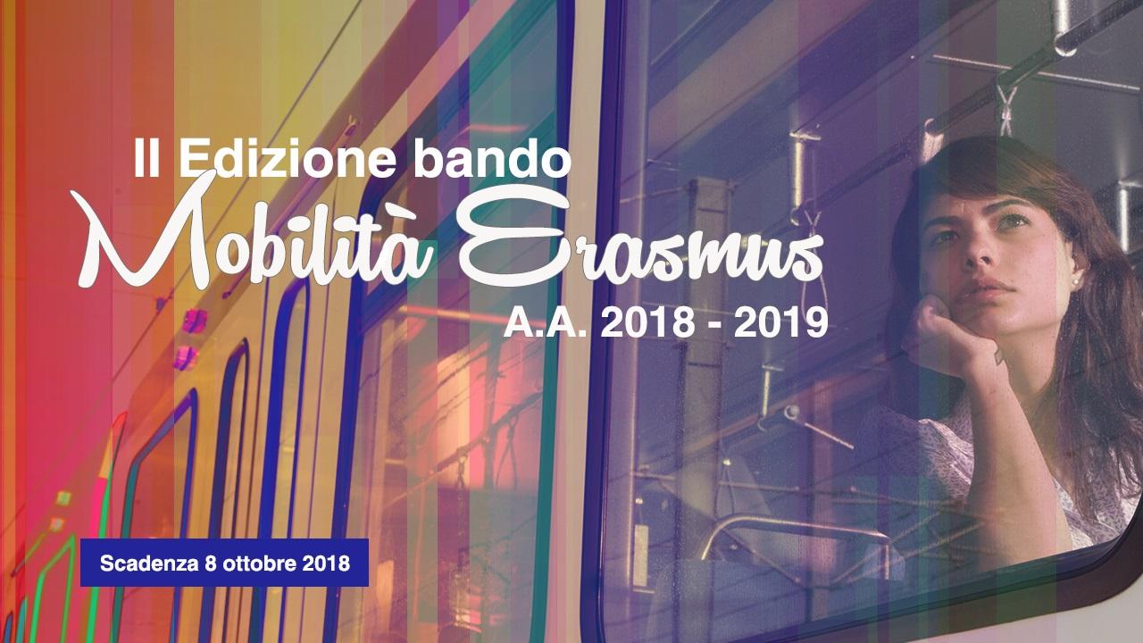 Bando Mobilità Erasmus+
