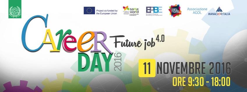 """Si chiude con oltre 1000 presenze di studenti e laureati il """"Career Day 2016"""" Unimarconi"""