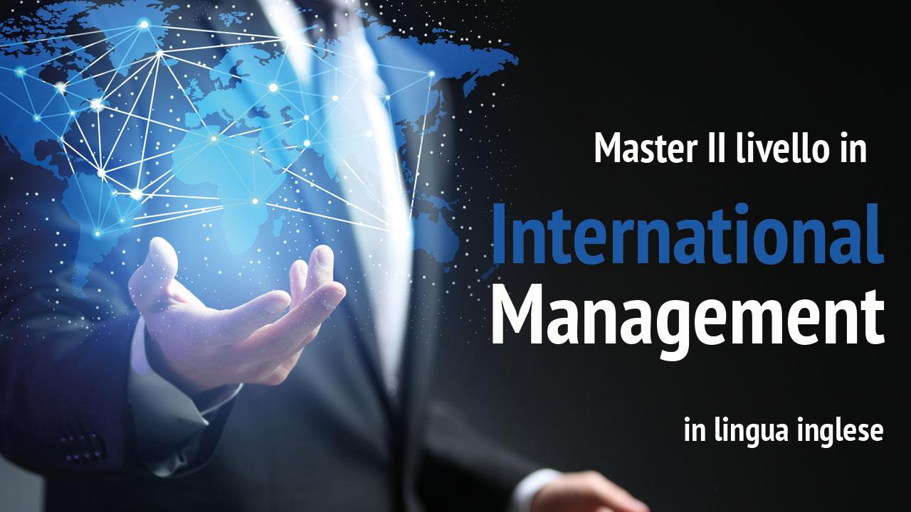 Master in International Management