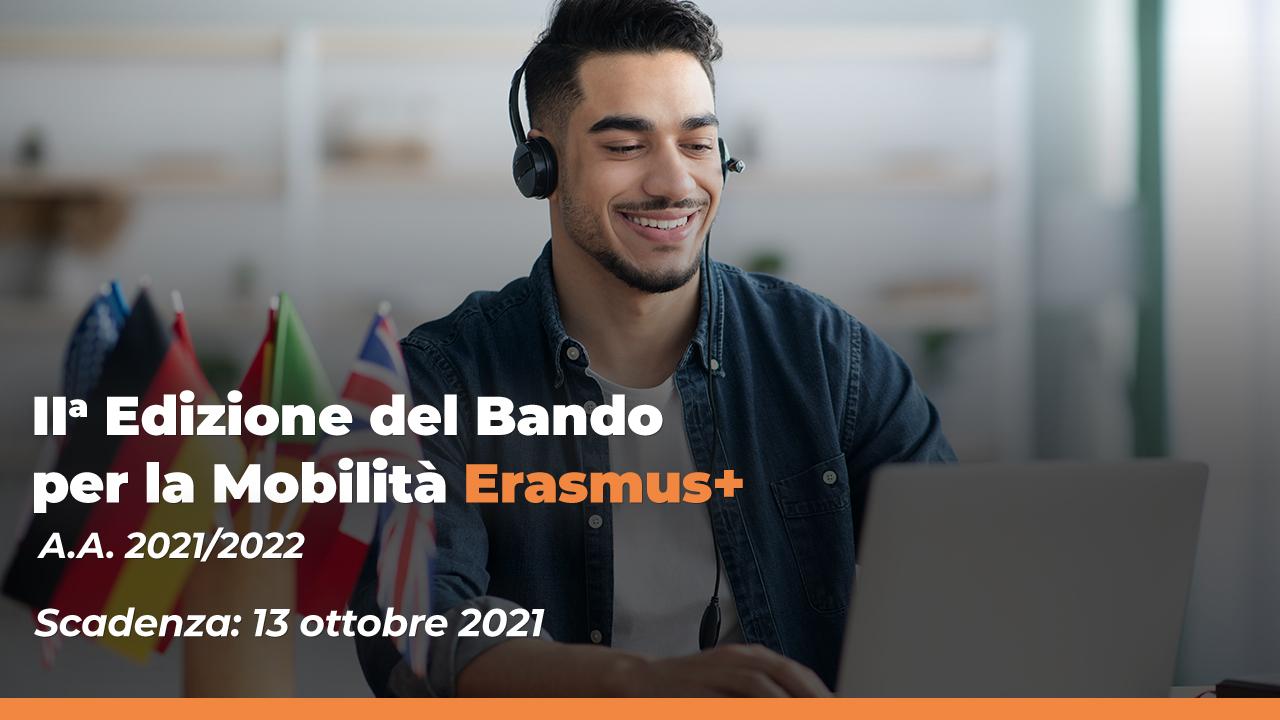 Bando Erasmus I Edizione A.A. 2021 - 2022