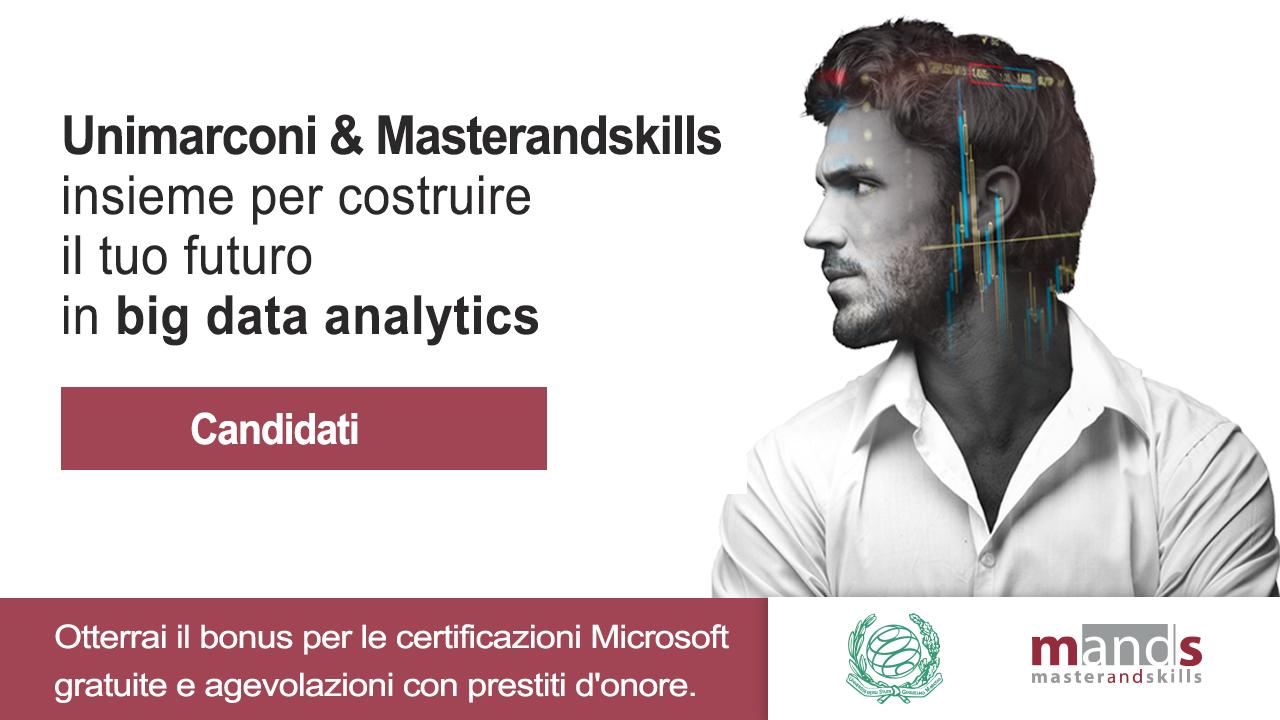Unimarconi e Masterandskills insieme per rispondere al mercato del lavoro qualificato