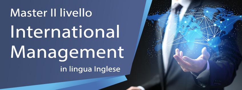 Master in International Management (2° livello)