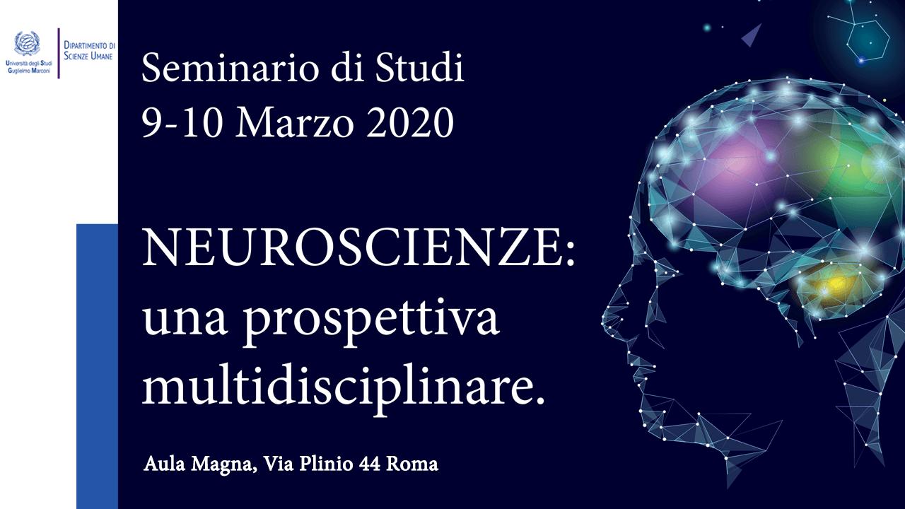 Seminario di studi - Neuroscenze: una prospettiva multidisciplinare