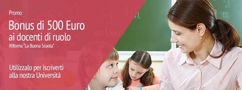 Riduzione tasse di iscrizione per personale docente e ATA