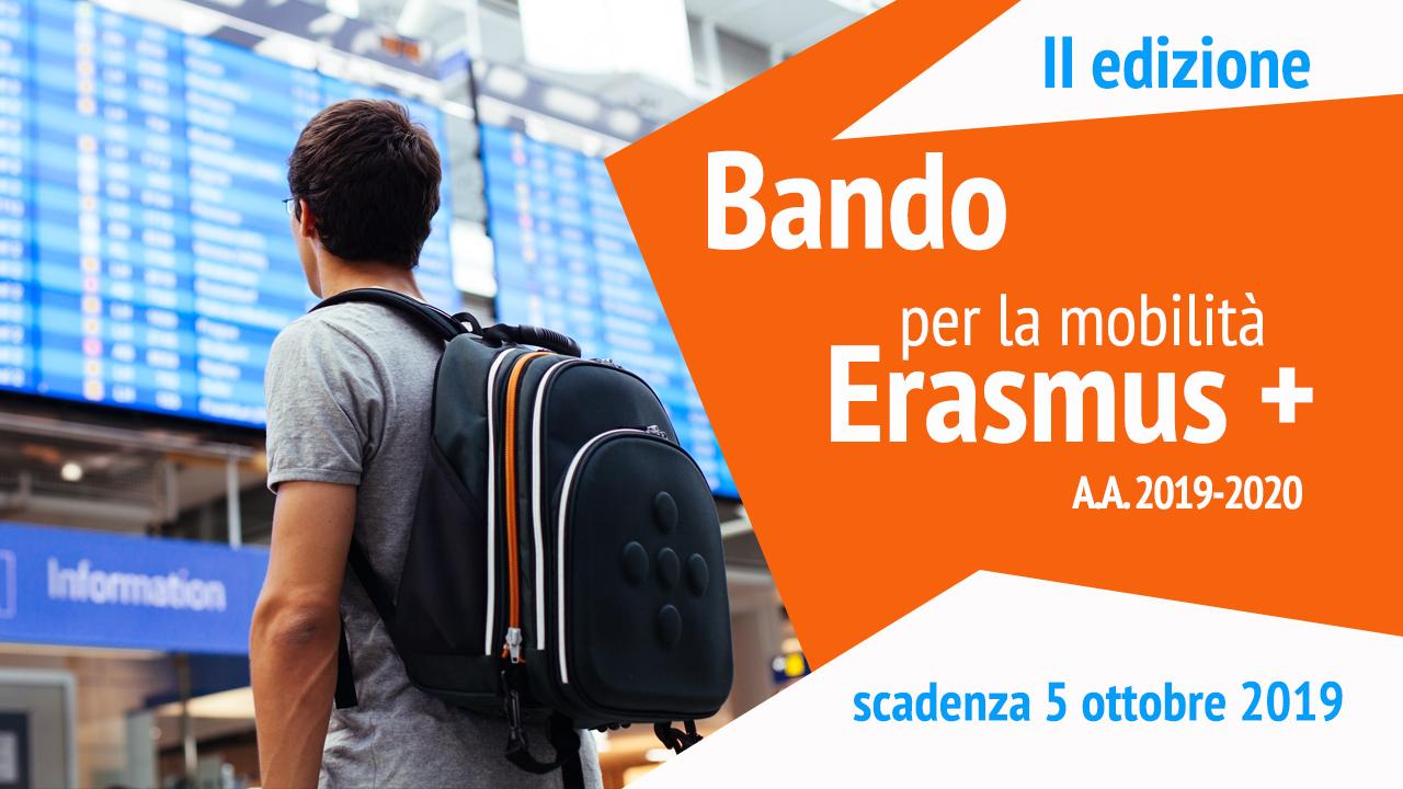 Bando Erasmus II semestre A.A. 2019 - 2020