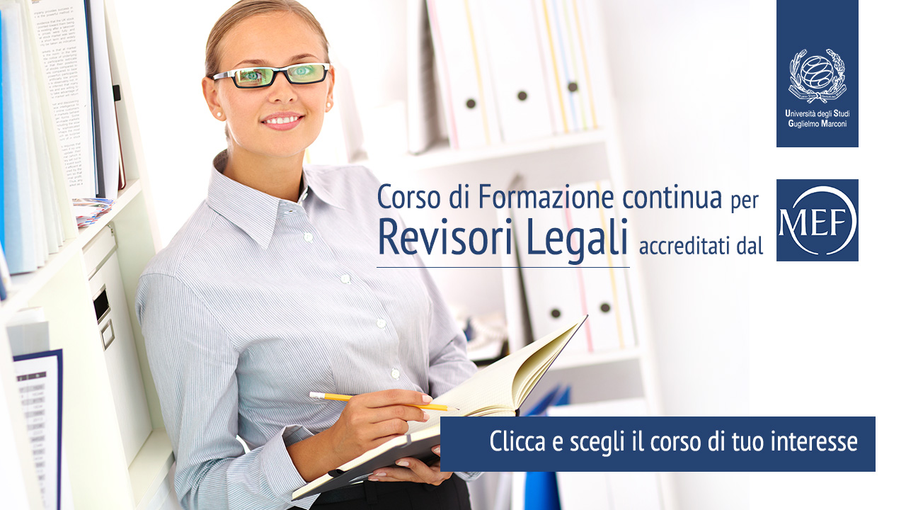 Corso di Formazione per Revisore Legale