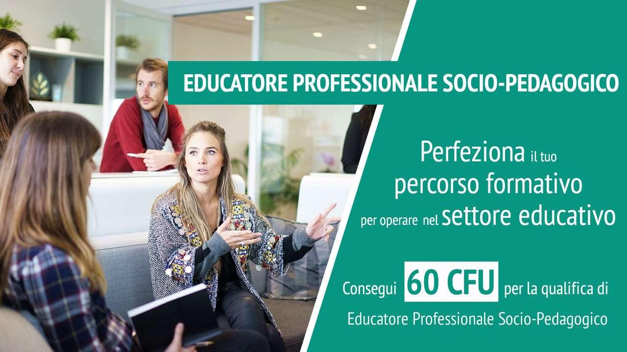 Corso intensivo educatore socio-pedagogico