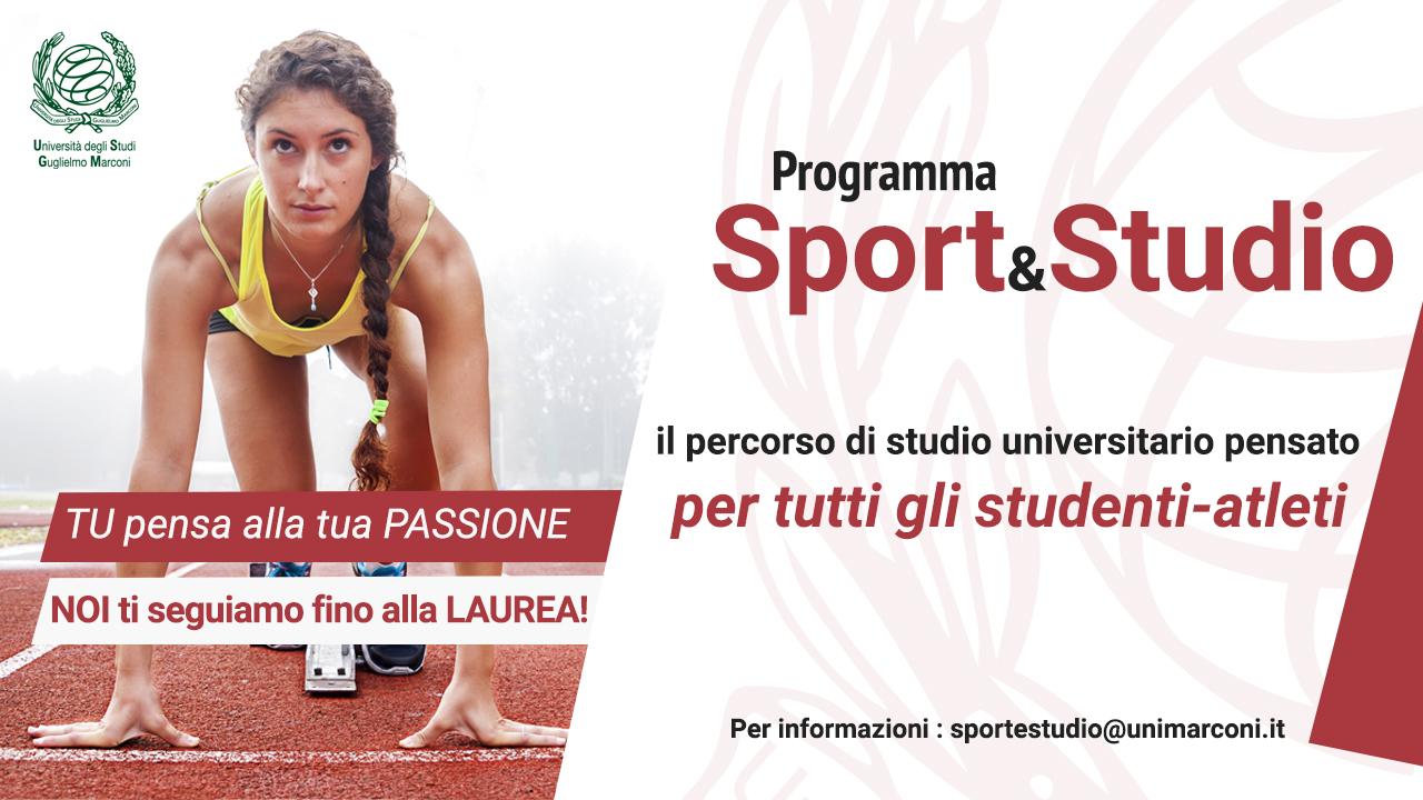 Programma Studio & Sport