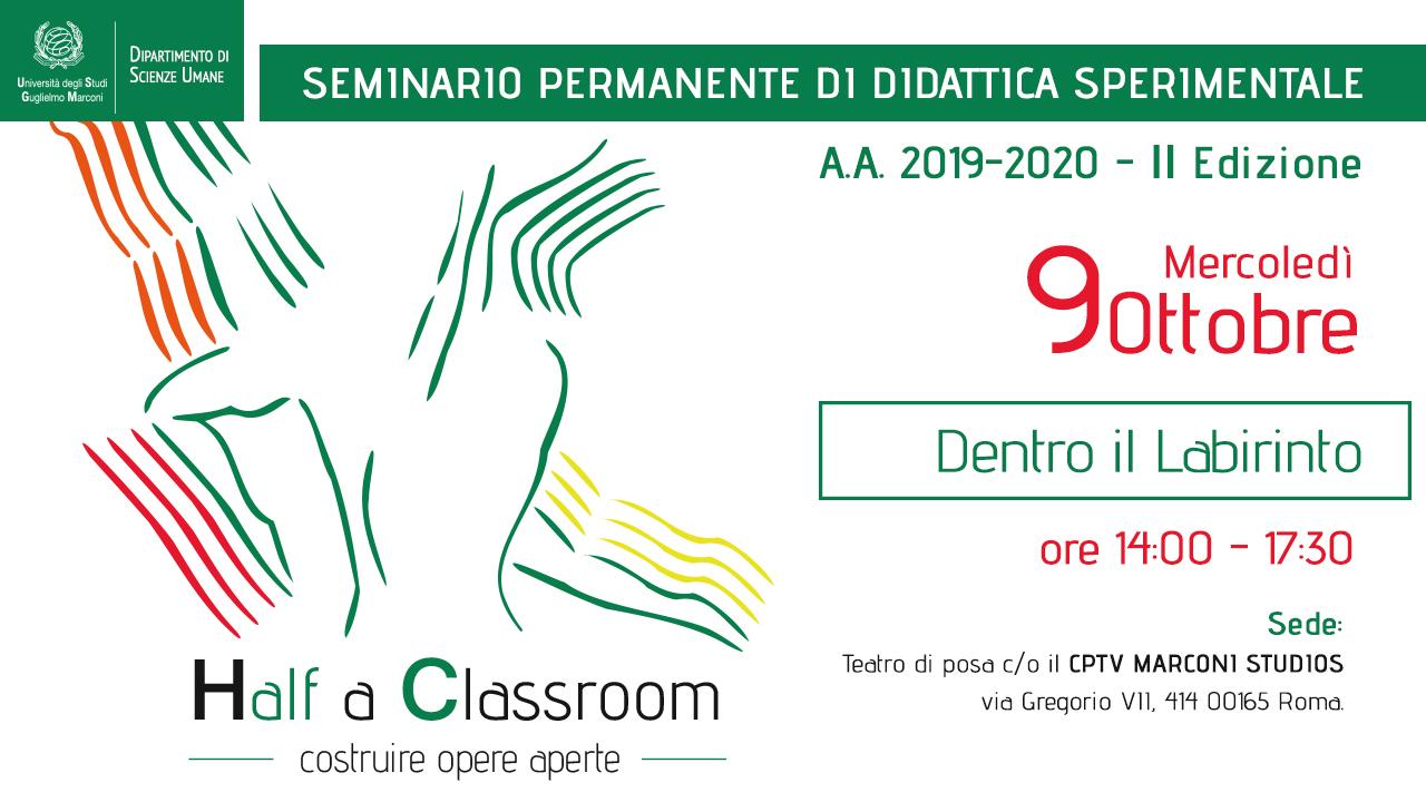 Half a Classroom - Seminario permanente di Didattica Sperimentale